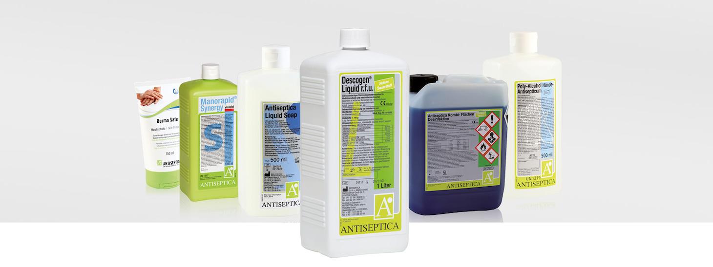 Antiseptica - der Spezialist für Hygiene und Infektionsprophylaxe